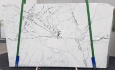 Suministro planchas pulidas 2 cm en mármol natural STATUARIO VENATO SG 973. Detalle imagen fotografías