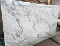 Suministro planchas pulidas 3 cm en mármol natural STATUARIO VENATO #1408. Detalle imagen fotografías