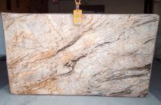 Suministro planchas pulidas 2 cm en cuarcita natural TEMPEST CRISTALLO A0111. Detalle imagen fotografías