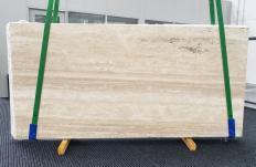 Suministro planchas mates 2 cm en travertino natural TRAVERTINO ALABASTRIN0 1309. Detalle imagen fotografías