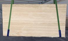 Suministro planchas mates 0.8 cm en travertino natural TRAVERTINO ROMANO CHIARO BARCO 1262. Detalle imagen fotografías