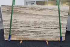 Suministro planchas mates 2 cm en travertino natural TRAVERTINO SILVER ROMANO 1397. Detalle imagen fotografías