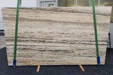 Suministro planchas mates 3 cm en travertino natural TRAVERTINO SILVER ROMANO 1397. Detalle imagen fotografías