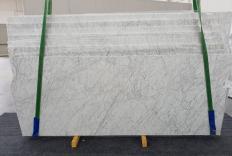 Suministro planchas pulidas 0.8 cm en mármol natural VENATINO BIANCO 1256. Detalle imagen fotografías