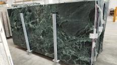 Suministro planchas pulidas 3 cm en mármol natural VERDE ALPI 1566M. Detalle imagen fotografías