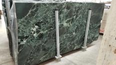 Suministro planchas pulidas 2 cm en mármol natural VERDE ALPI 1566M. Detalle imagen fotografías