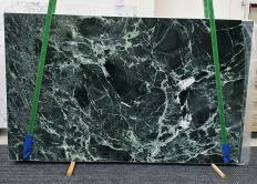 Suministro planchas pulidas 2 cm en mármol natural VERDE ALPI 1439. Detalle imagen fotografías