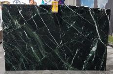 Suministro planchas pulidas 2 cm en mármol natural VERDE IMPERIALE UL0120. Detalle imagen fotografías