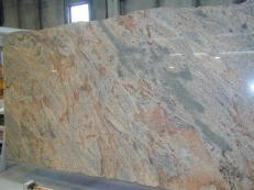 Suministro planchas pulidas 2 cm en granito natural VYARA CV1-VY25. Detalle imagen fotografías