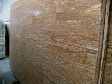 Suministro planchas pulidas 2 cm en travertino natural WALNUT TRAVERTINE C-944. Detalle imagen fotografías