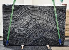 Suministro planchas pulidas 2 cm en mármol natural Zebra Black 1387. Detalle imagen fotografías