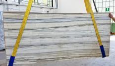 Suministro planchas pulidas 2 cm en mármol natural Zebrino LV0135. Detalle imagen fotografías