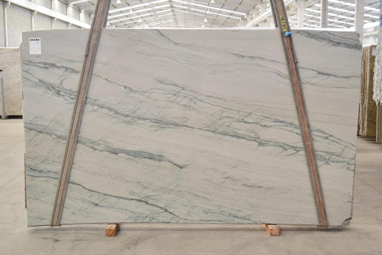 INFINITY GREY Suministro Verona (Italia) de planchas pulidas en cuarcita natural 2390 , Bnd #26288