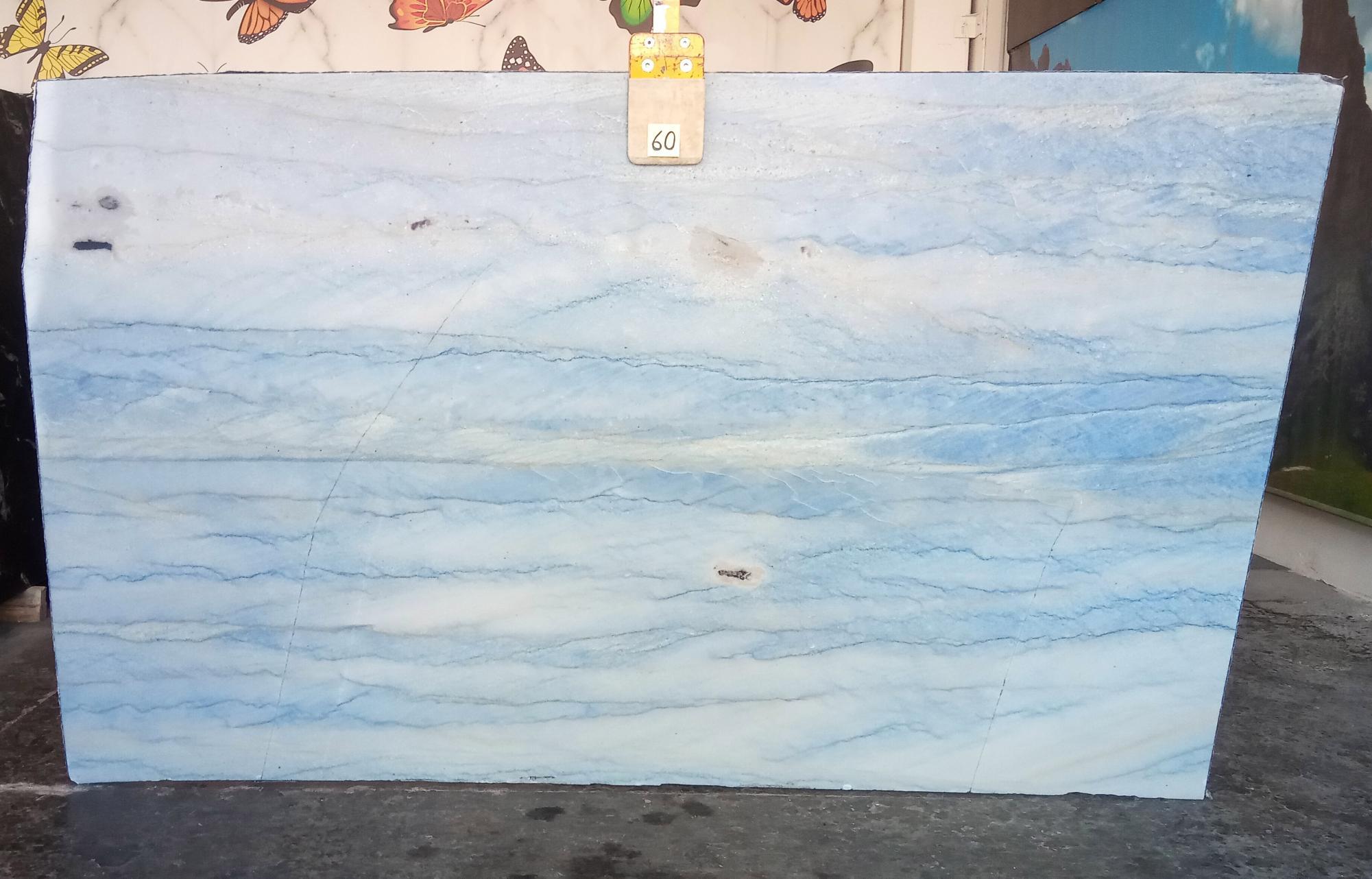 AZUL MAKAUBA Suministro Veneto (Italia) de planchas pulidas en mármol natural Z0191 , Slab #60