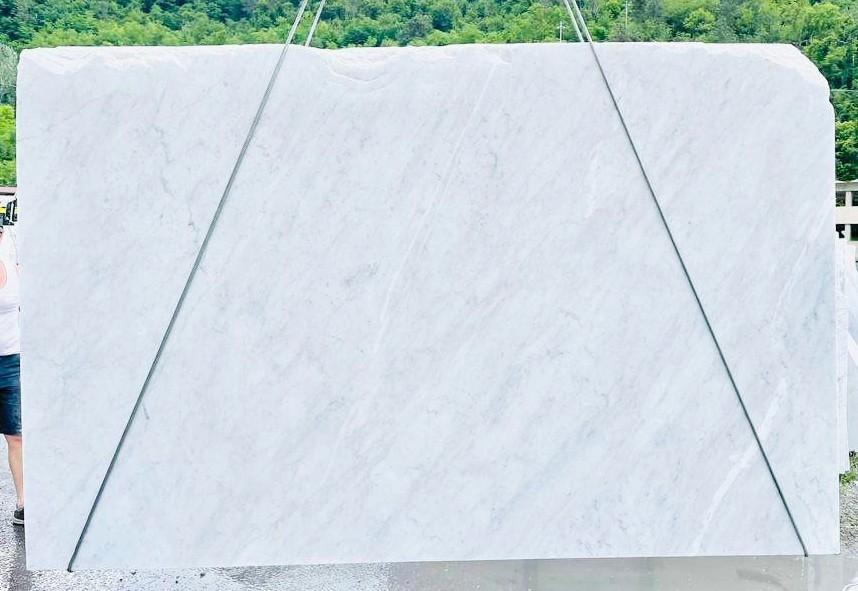 BIANCO CARRARA C Suministro Veneto (Italia) de planchas ásperas en mármol natural D210930 , Bnd10