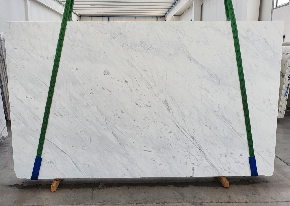BIANCO CARRARA C Suministro Veneto (Italia) de planchas pulidas en mármol natural 1441 , Slab #07