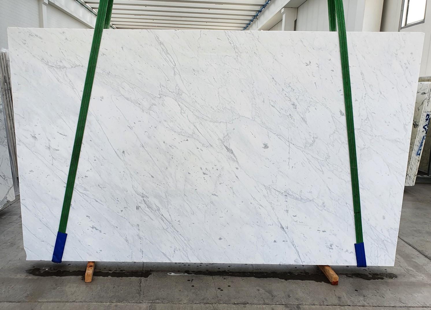 BIANCO CARRARA C Suministro Veneto (Italia) de planchas pulidas en mármol natural 1441 , Slab #19