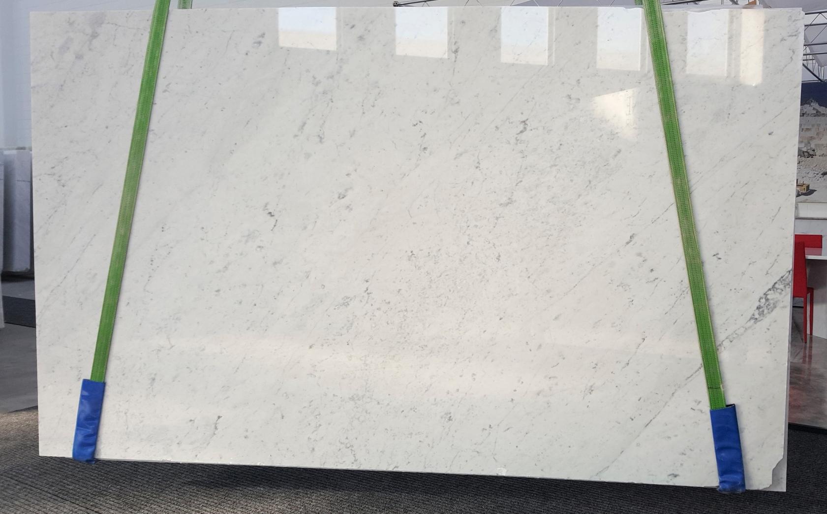 BIANCO CARRARA C Suministro Veneto (Italia) de planchas pulidas en mármol natural GL 895 , Slab 34