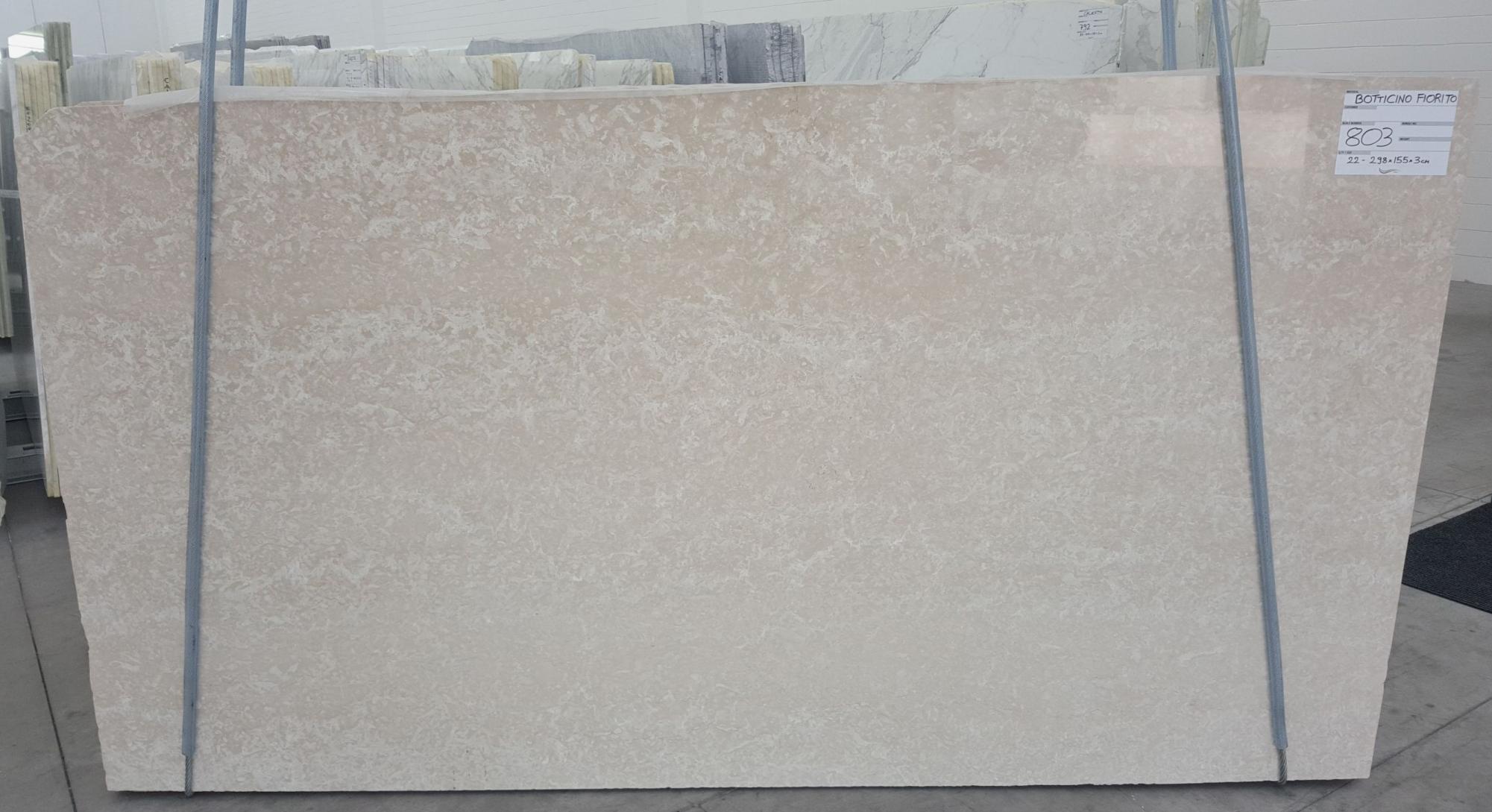 BOTTICINO FIORITO LIGHT Suministro Verona (Italia) de planchas pulidas en mármol natural 1149 , Bundle #1-2