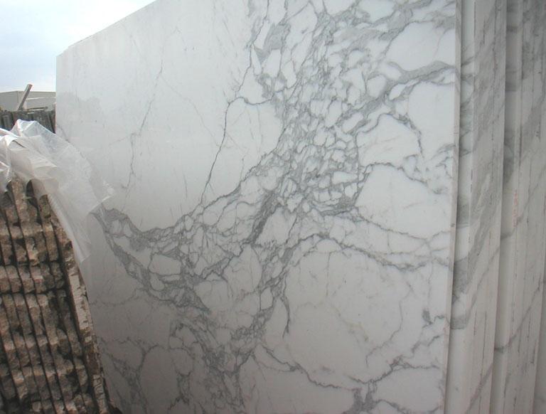 CALACATTA CARRARA Suministro (Italia) de planchas pulidas en mármol natural E-O448