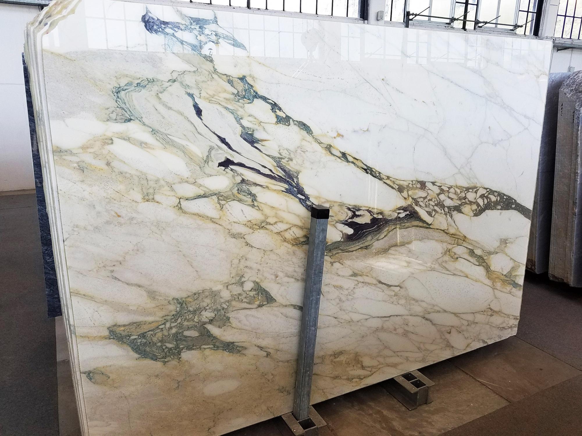 CALACATTA FIORITO Suministro Veneto (Italia) de planchas pulidas en mármol natural U0433 , Slab #01