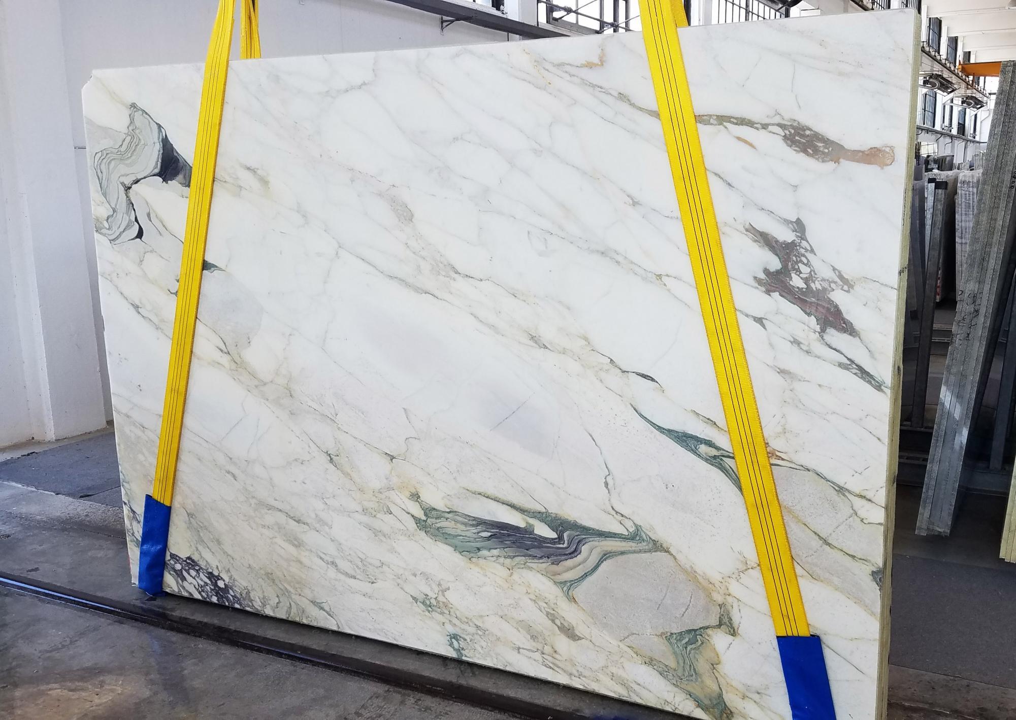 CALACATTA FIORITO Suministro Veneto (Italia) de planchas al corte en mármol natural U0433 , Slab #18