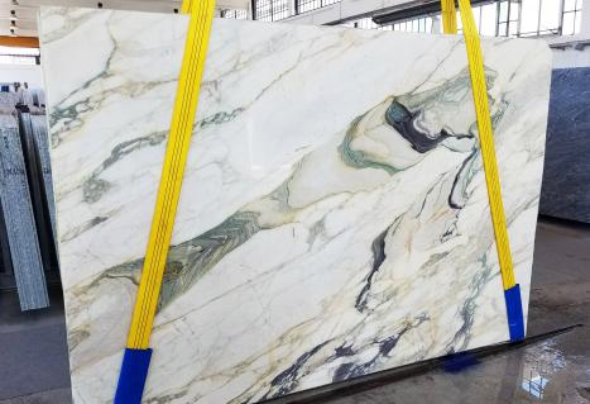 CALACATTA FIORITO Suministro Veneto (Italia) de planchas al corte en mármol natural U0433 , Slab #25