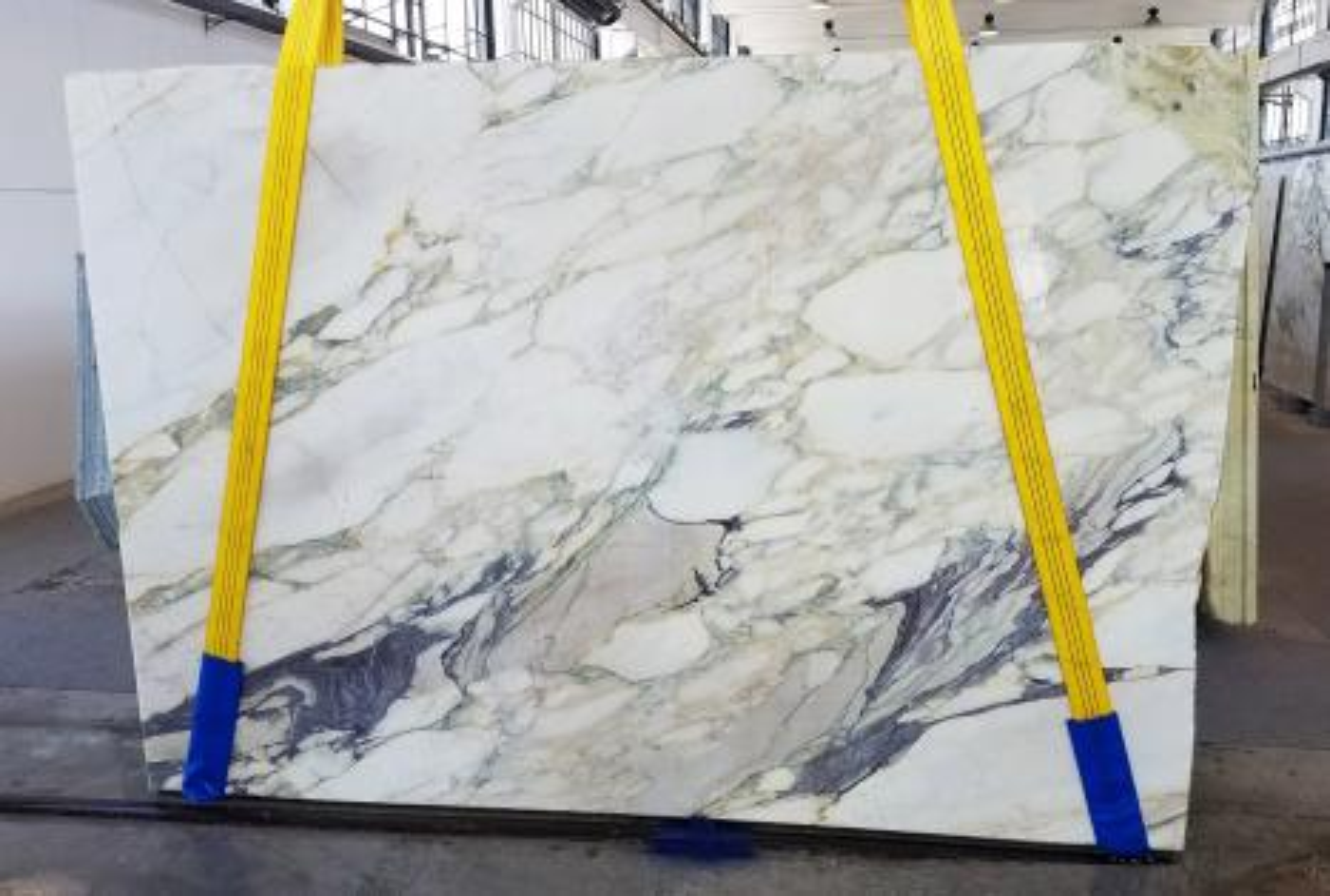 CALACATTA FIORITO Suministro Veneto (Italia) de planchas al corte en mármol natural U0433 , Slab #42