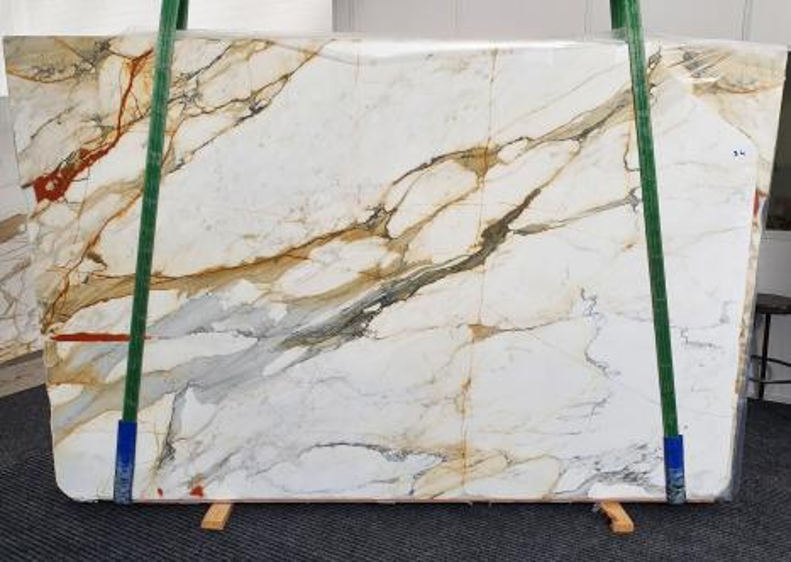 CALACATTA MACCHIAVECCHIA Suministro Veneto (Italia) de planchas pulidas en mármol natural 1422 , Slab #34