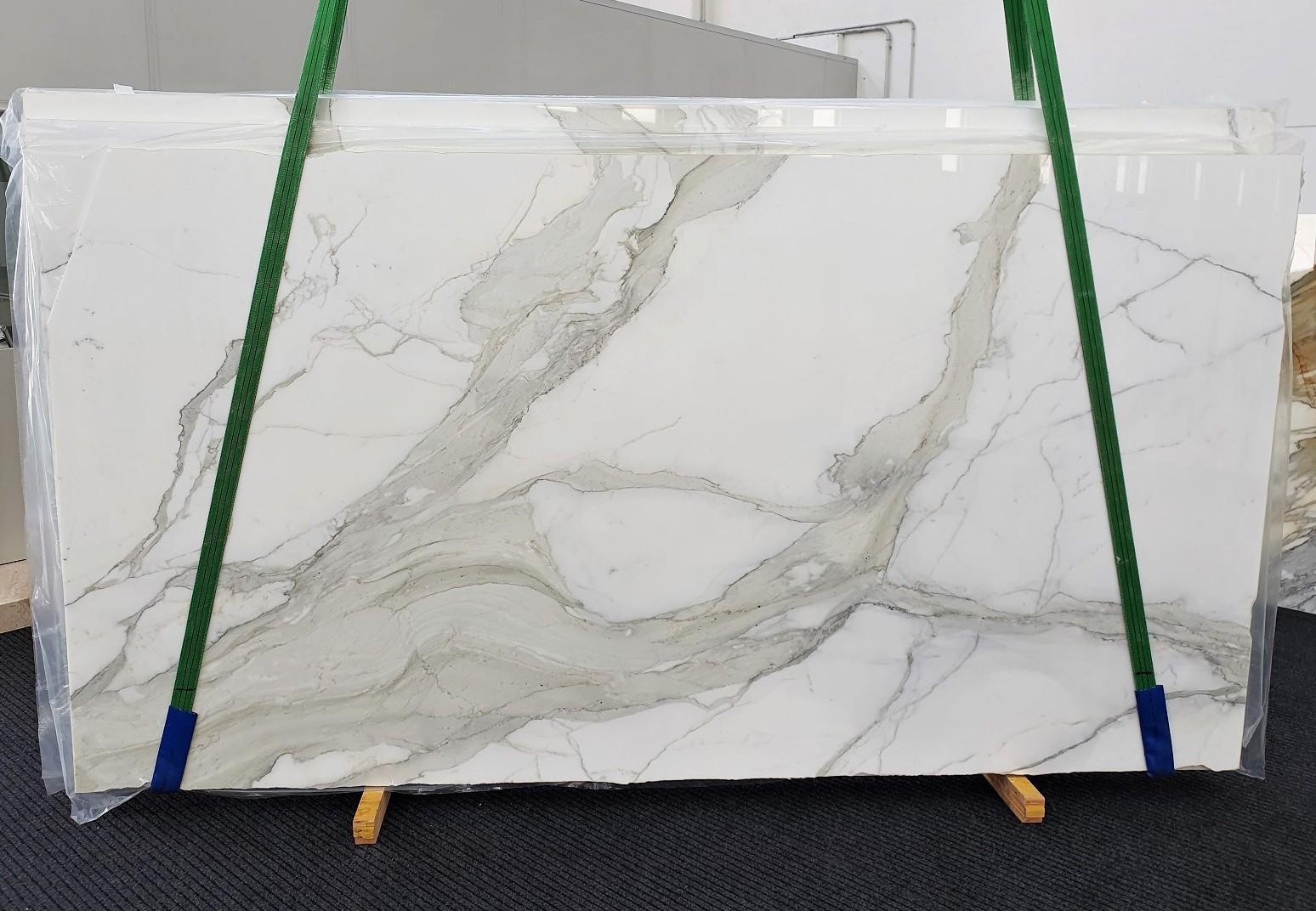 CALACATTA ORO EXTRA Suministro Veneto (Italia) de planchas pulidas en mármol natural 1366 , Slab #01