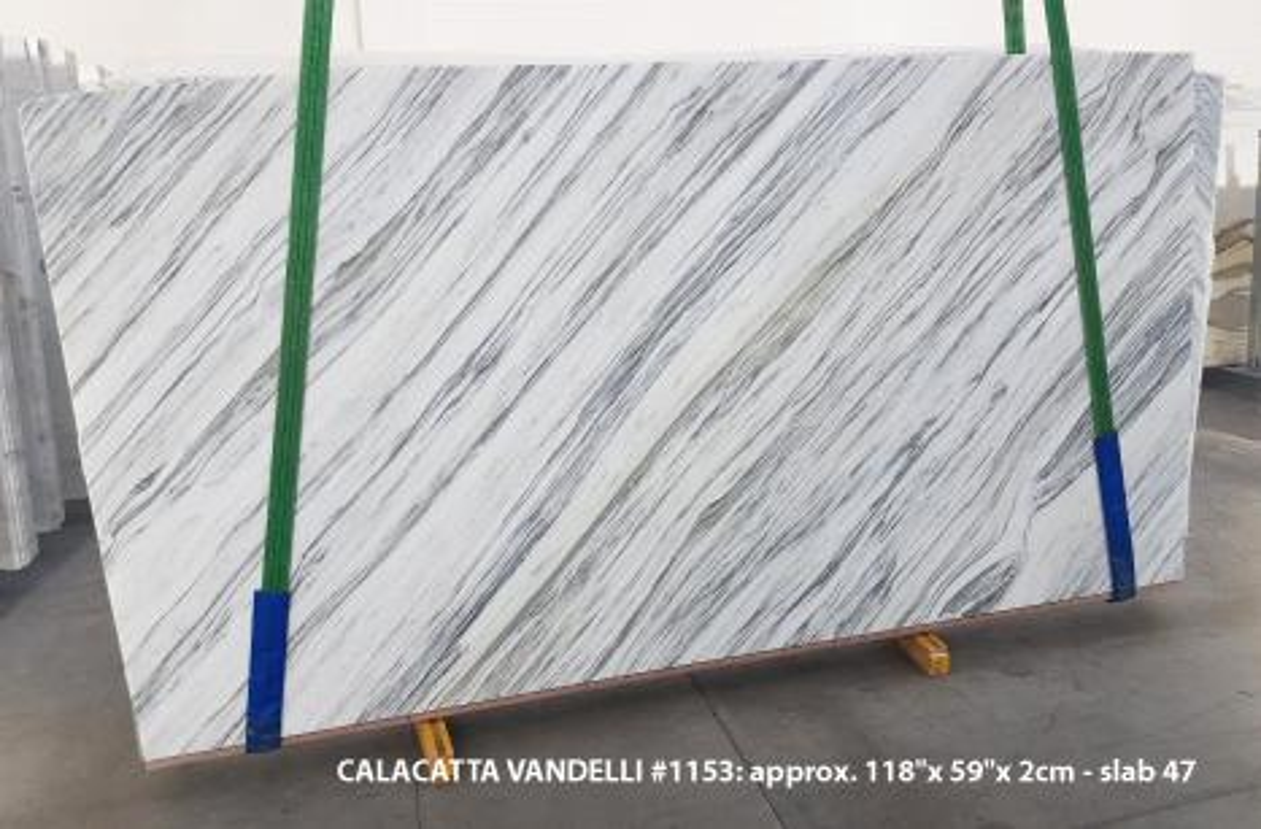 Calacatta Vandelli Suministro (Italia) de planchas pulidas en mármol natural 1153 , Slab #47