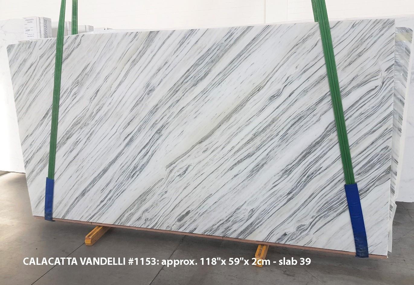 Calacatta Vandelli Suministro Veneto (Italia) de planchas pulidas en mármol natural 1153 , Slab #39
