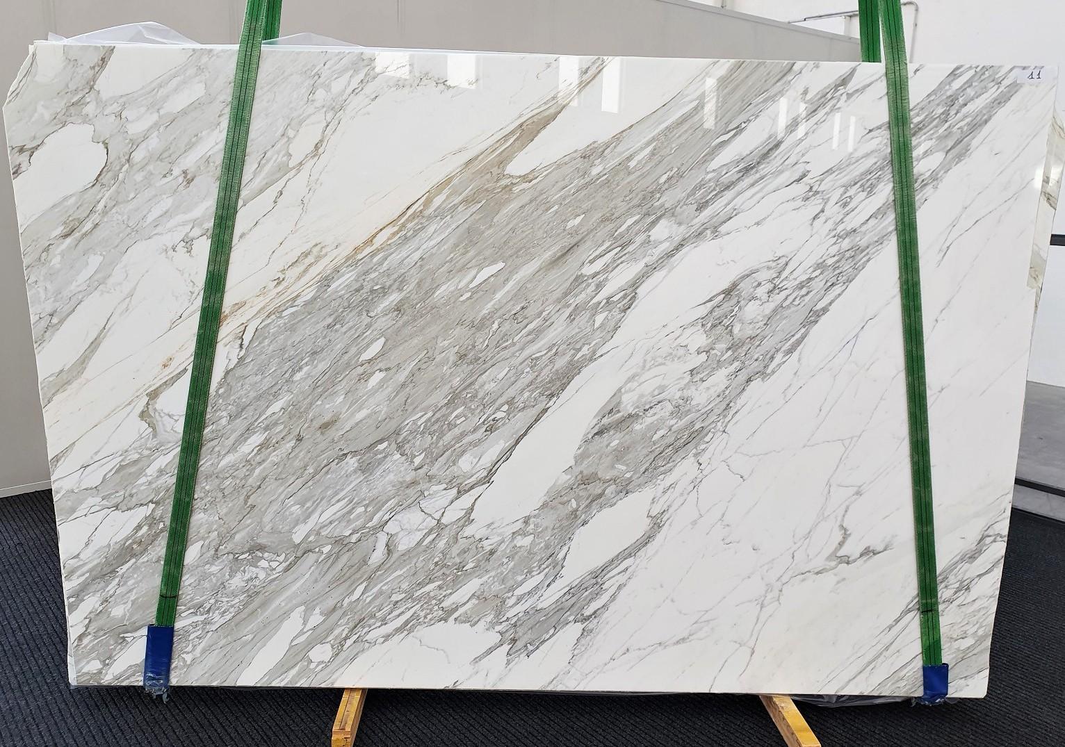 CALACATTA Suministro Veneto (Italia) de planchas pulidas en mármol natural 1344 , B - slab #11
