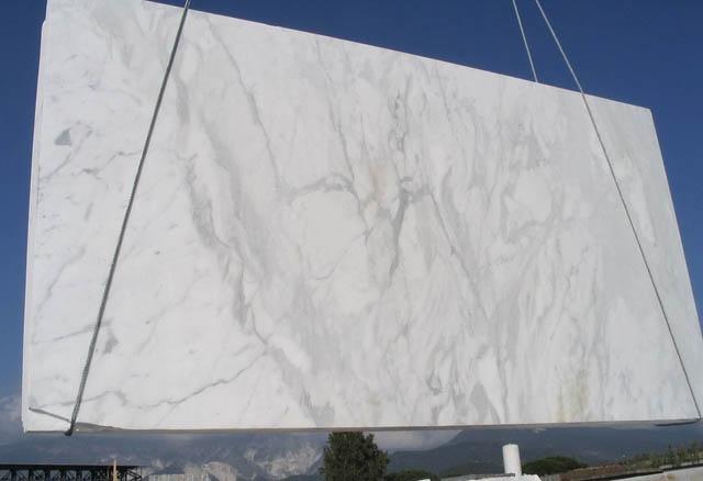 CALACATTA Suministro Toscana (Italia) de planchas pulidas en mármol natural E_COM0807