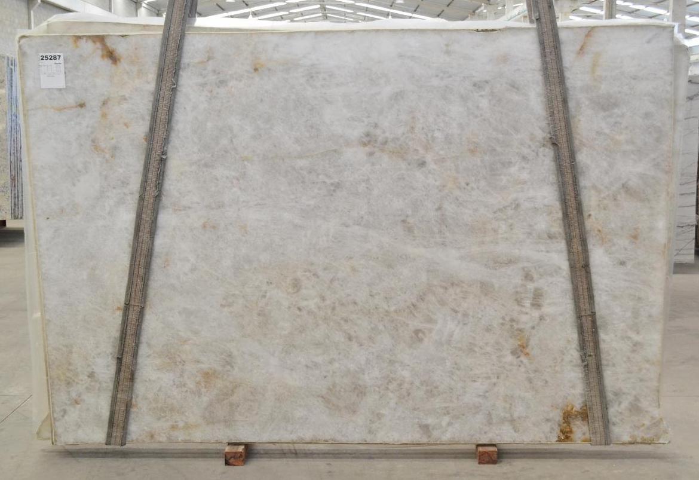 DIAMOND CRISTALLO Suministro Victoria (Brasil) de planchas pulidas en cuarcita natural BQ02287 , Bnd 25288