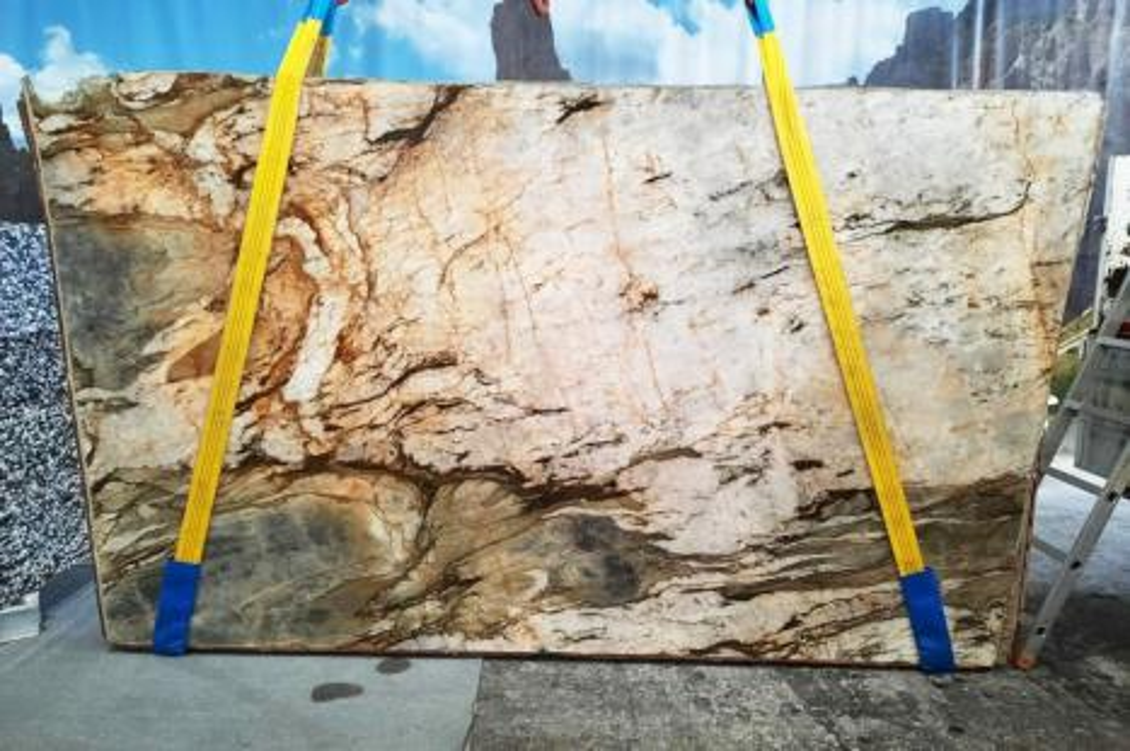 FUSION MISTIC Suministro Veneto (Italia) de planchas pulidas en cuarcita natural U0113 , Slab #01