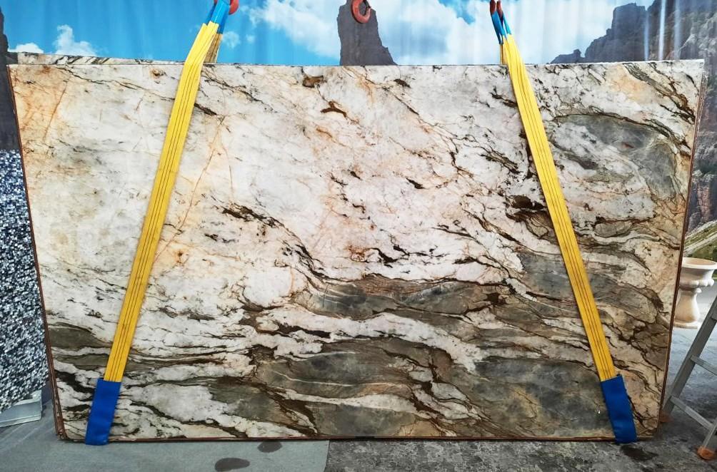 FUSION MISTIC Suministro Veneto (Italia) de planchas pulidas en cuarcita natural U0113 , Slab #26