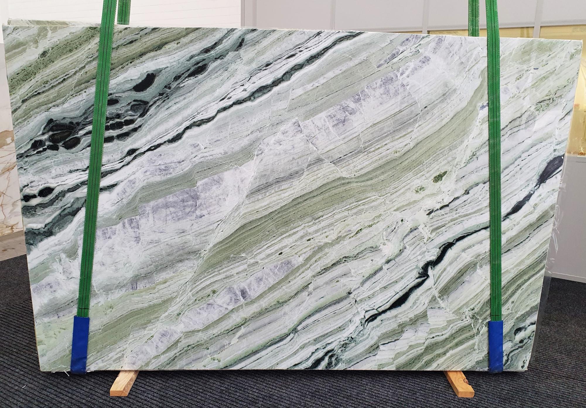 GREEN BEAUTY Suministro Veneto (Italia) de planchas pulidas en mármol natural 1452 , Slab #10