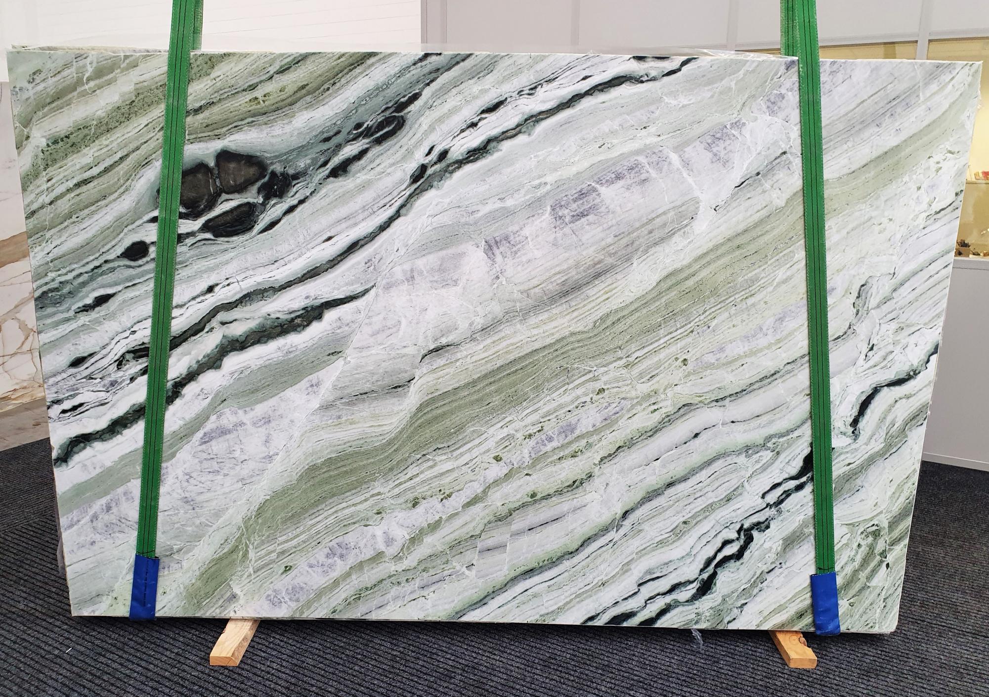 GREEN BEAUTY Suministro Veneto (Italia) de planchas pulidas en mármol natural 1452 , Slab #20