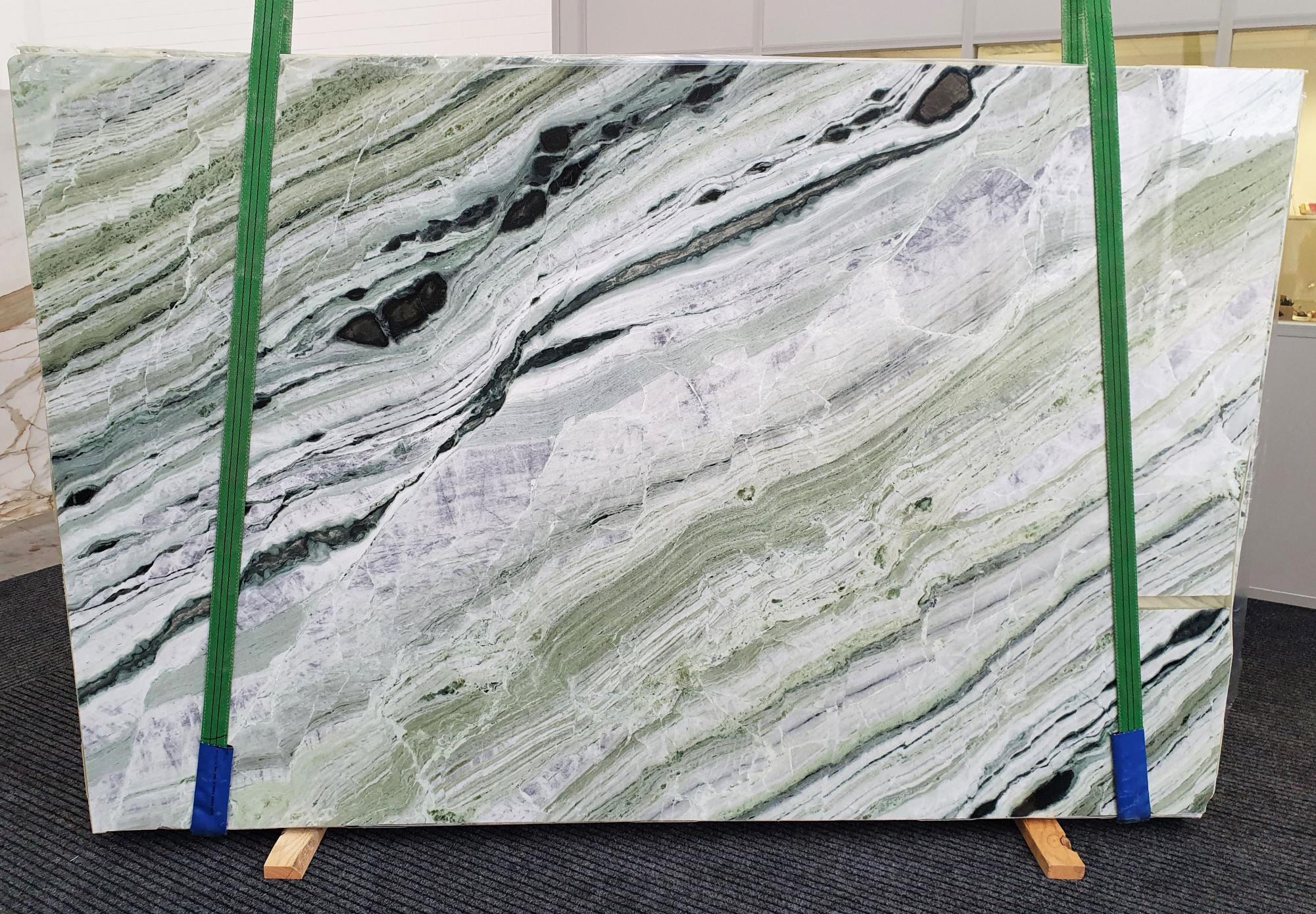 GREEN BEAUTY Suministro Veneto (Italia) de planchas pulidas en mármol natural 1452 , Slab #30