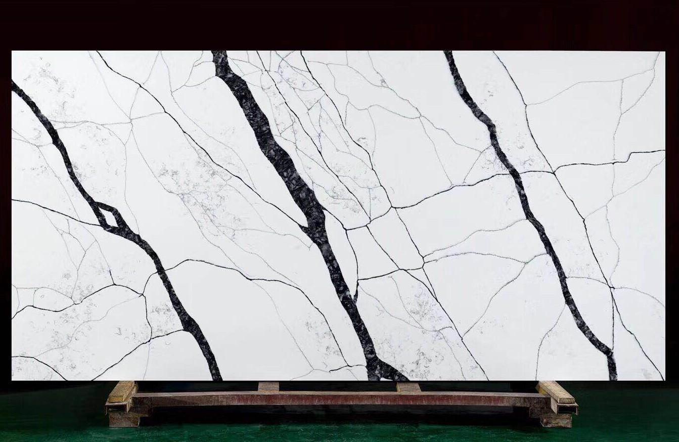 MATERA Suministro Hai Phong (Vietnam) de planchas pulidas en cuarzo aglomerado artificial V7005 , SL3CM