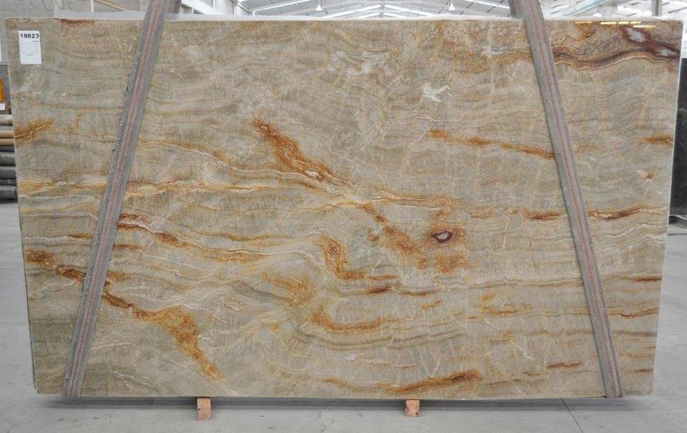 NACARADO Suministro Victoria (Brasil) de planchas pulidas en cuarcita natural BQ01693 , Bnd 18823