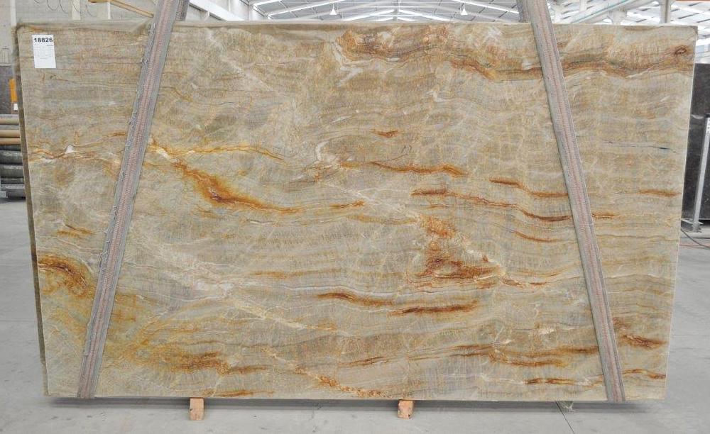 NACARADO Suministro Victoria (Brasil) de planchas pulidas en cuarcita natural BQ01693 , Bnd 18826