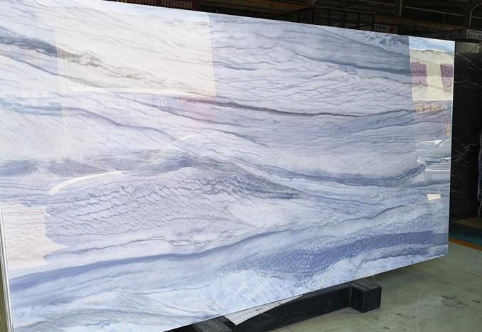NANO AZUL MACAU Suministro Fujian (China) de planchas pulidas en vidrio fusión resistente al calor Model-AM , 18MM