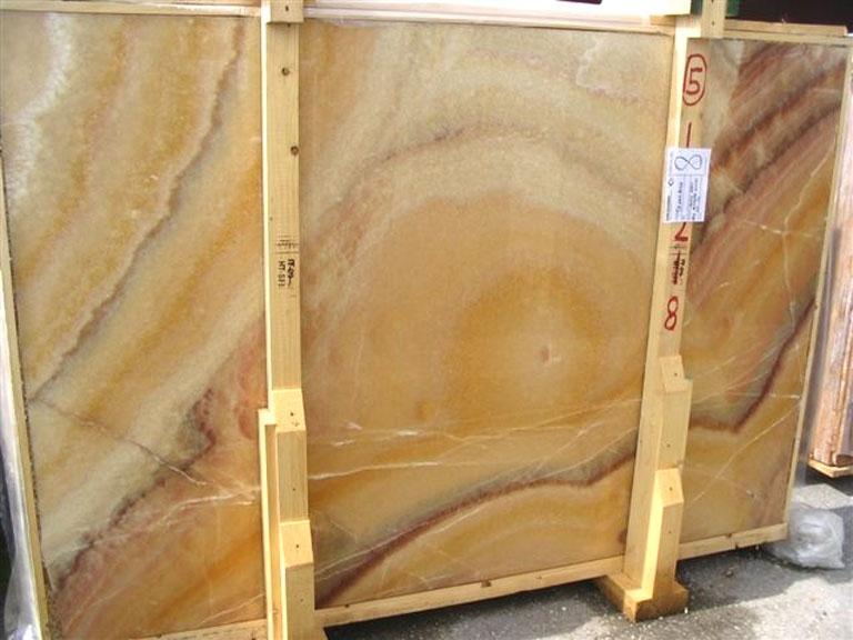 ONICE ARCOIRIS Suministro (Italia) de planchas pulidas en ónix natural EDM25109