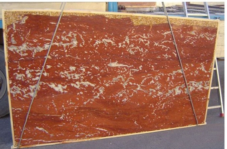 ROSSO FRANCIA LIGHT Suministro (Italia) de planchas pulidas en mármol natural E-2193