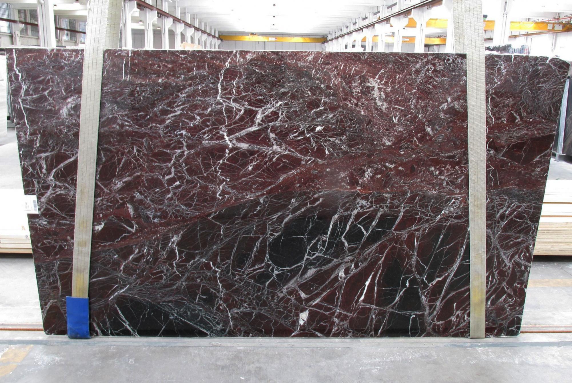 ROSSO LEVANTO Suministro Veneto (Italia) de planchas pulidas en mármol natural 1712M , Slab #20