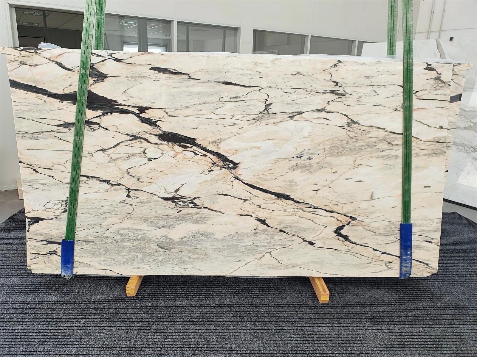 STATUARIO CORAL Suministro Veneto (Italia) de planchas pulidas en mármol natural 1328 , Bundle #02