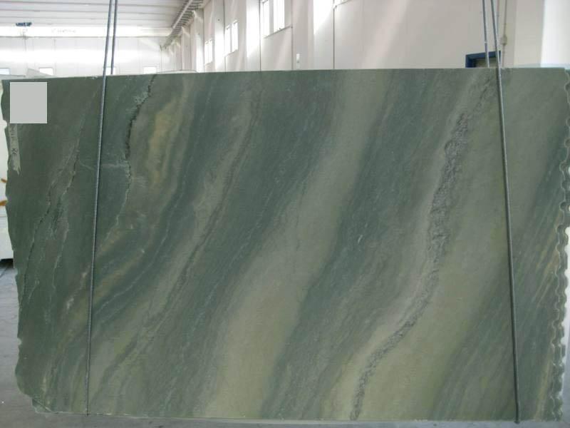 VERDE LAGUNA Suministro (Italia) de planchas pulidas en mármol natural SR_060693