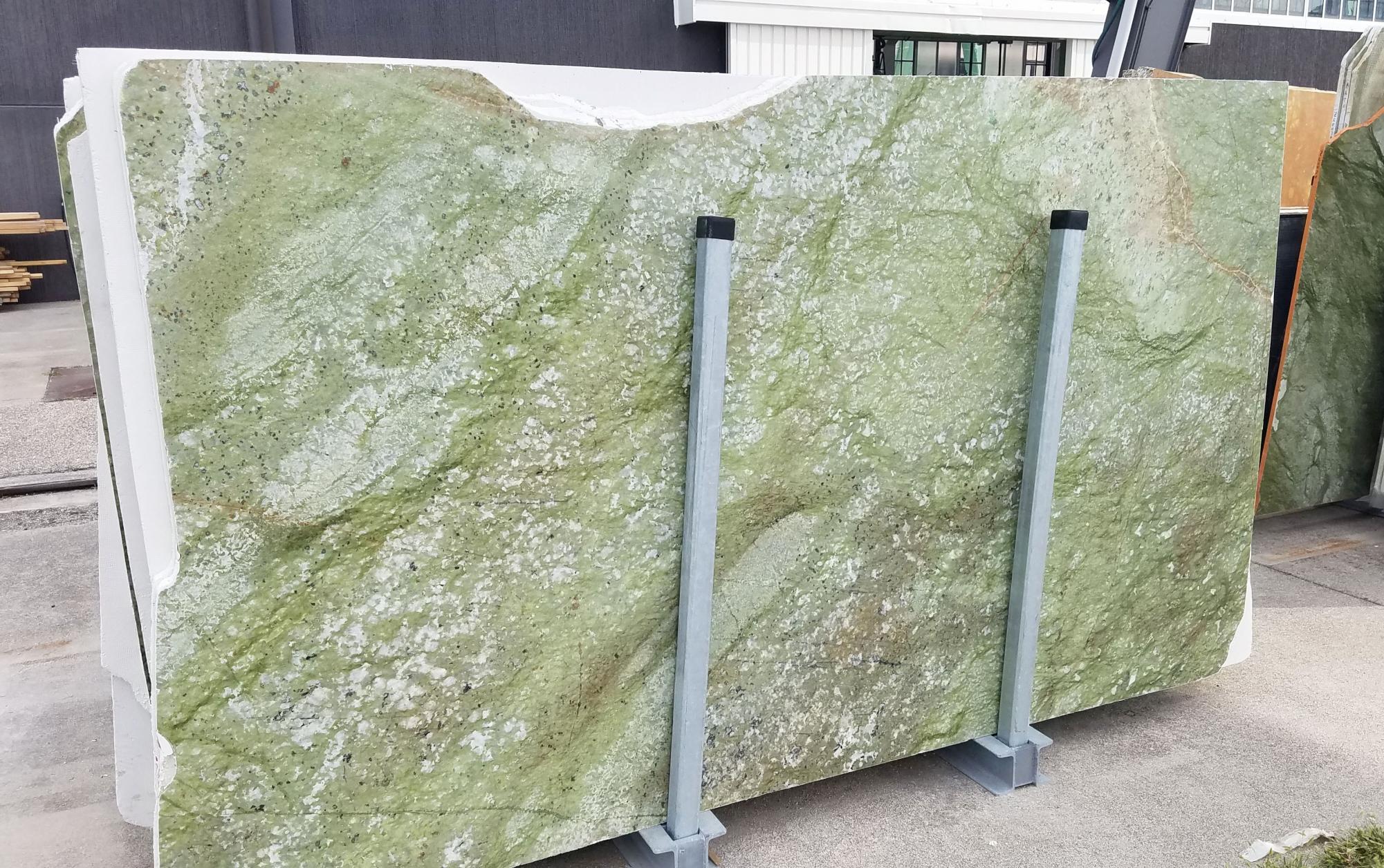 VERDE MING Suministro Veneto (Italia) de planchas pulidas en mármol natural ZL0076 , Slab #12